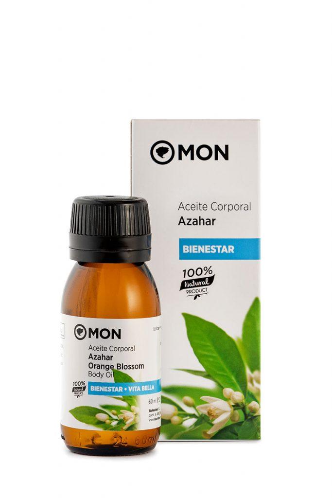 Aceite corporal natural de Azahar
