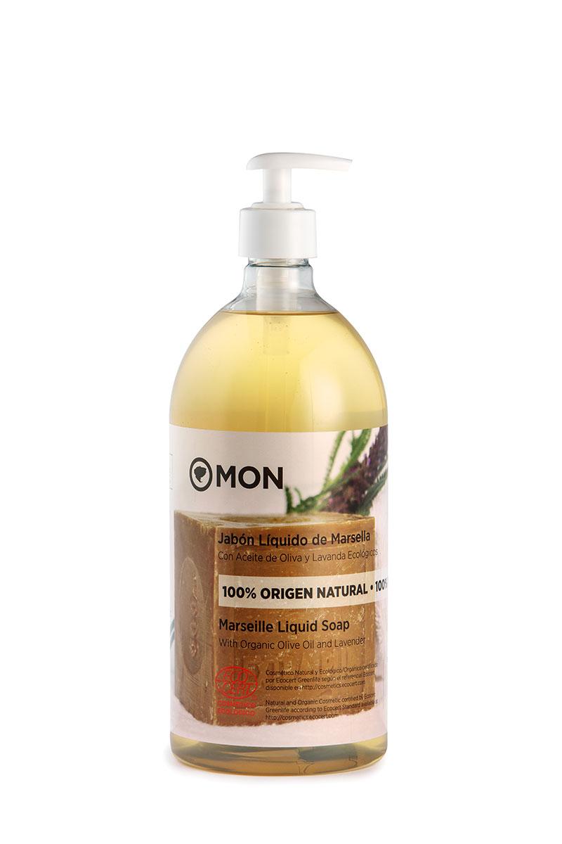 Jabón líquido de Marsella con Aceite de Oliva y Lavanda