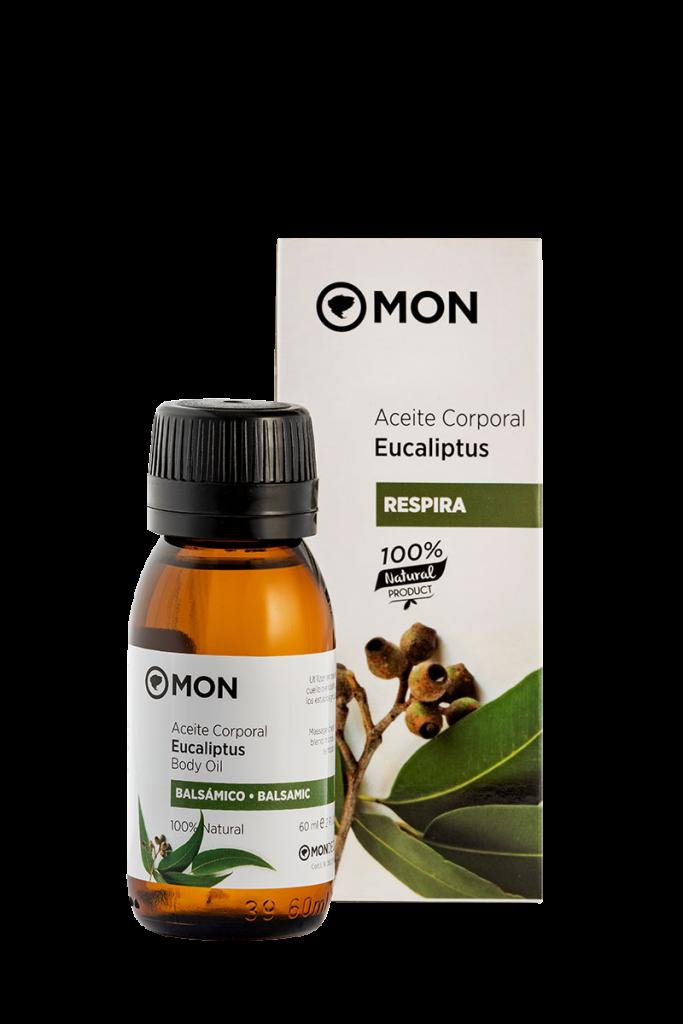 Aceite corporal natural de Eucaliptus