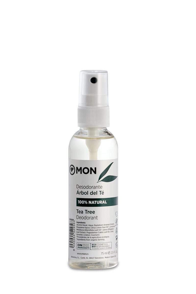 Desodorante natural Árbol del Té